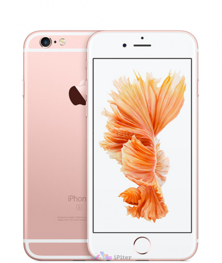 Фото Купить Apple iPhone 6s 128Gb<br> Rose Gold (MKQW2RU/A)