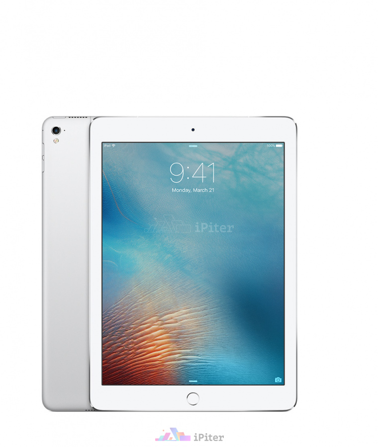 Фото Купить Apple iPad Pro 9,7'' 32gb Wi-Fi + Cellular Silver (MLPX2RU/A)