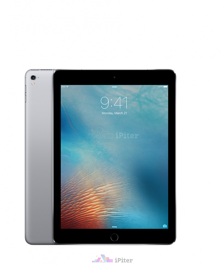Фото Купить Apple iPad Pro 9,7'' 128gb Wi-Fi Space Gray (MLMV2RU/A)