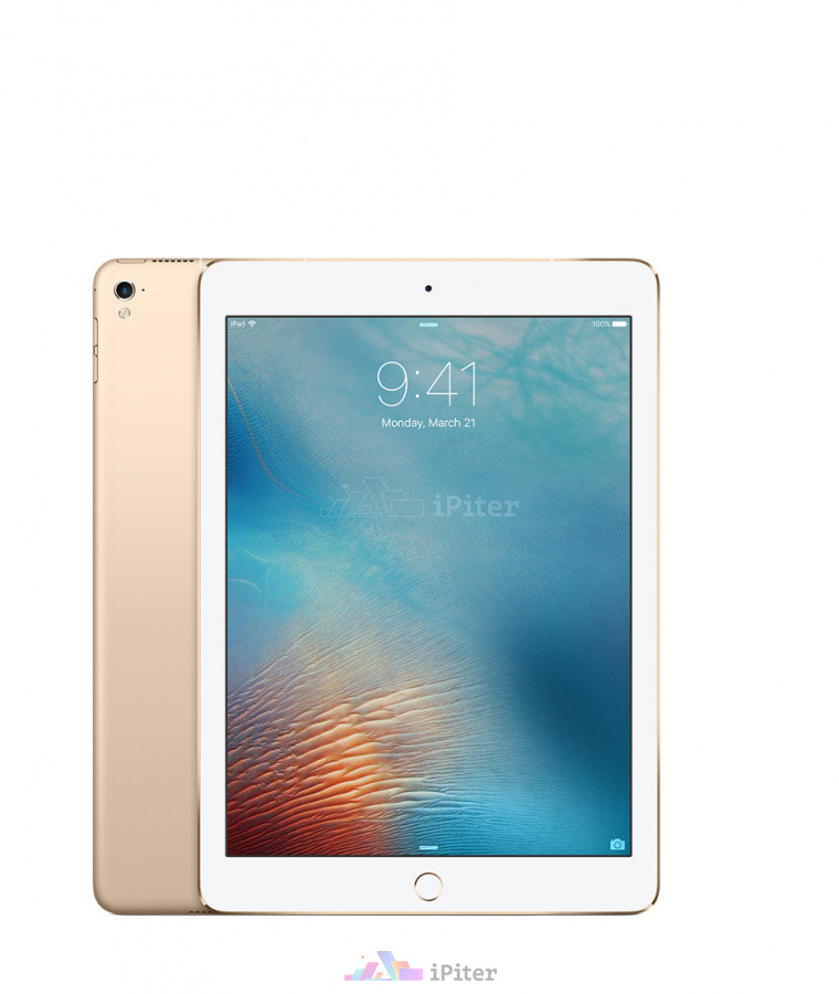 Фото Купить Apple iPad Pro 9,7'' 128gb Wi-Fi Gold (MLMX2RU/A)