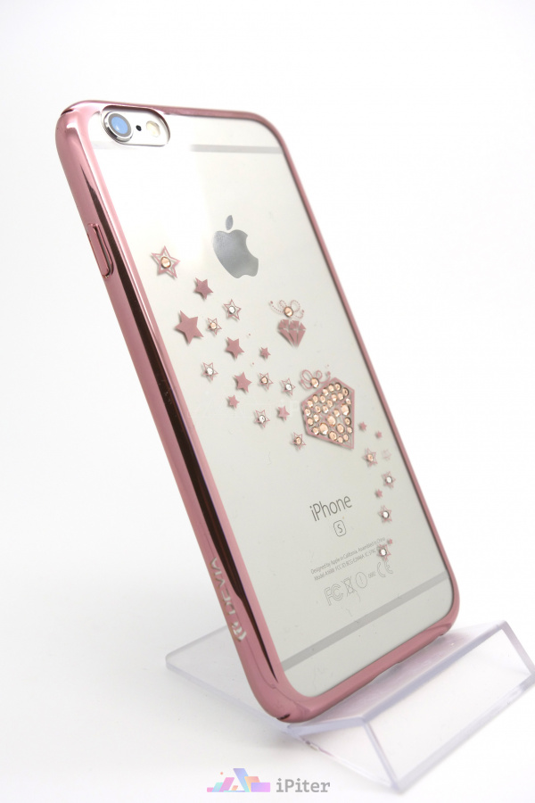 Фото Чехол Devia Crystal Starry для iPhone 6s / 6, Rose Gold